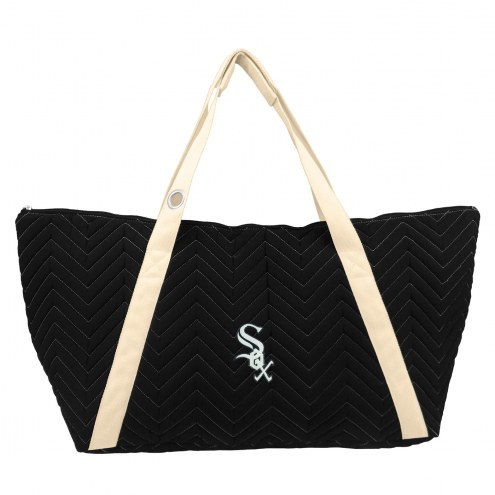 Chicago White Sox Chevron Stitch Weekender Bag