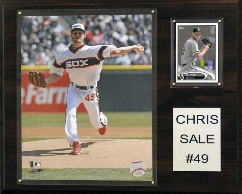"Chicago White Sox Chris Sale 12"" x 15"" Player Plaque"