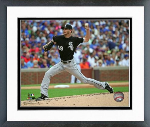 Chicago White Sox Chris Sale Action Framed Photo