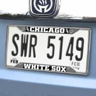 Chicago White Sox Chrome Metal License Plate Frame