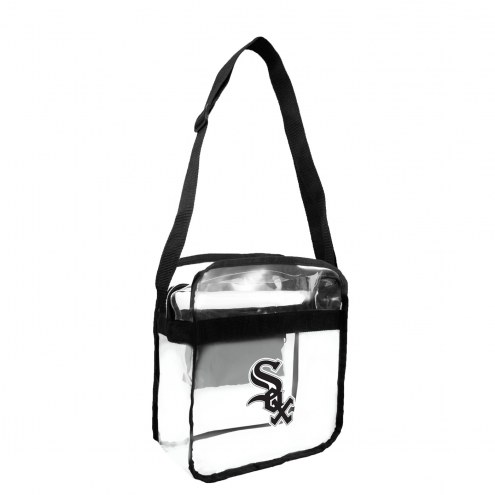 Chicago White Sox Clear Crossbody Carry-All Bag