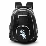 MLB Chicago White Sox Colored Trim Premium Laptop Backpack