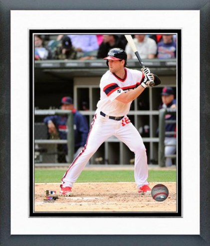 Chicago White Sox Conor Gillaspie Action Framed Photo
