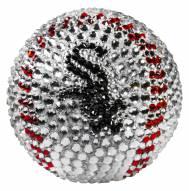 Chicago White Sox Swarovski Crystal Baseball