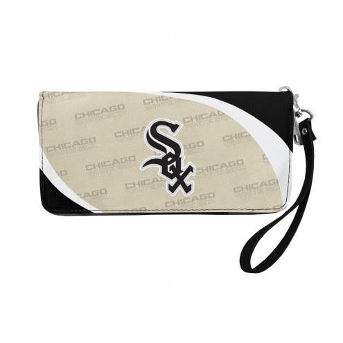 Chicago White Sox Curve Zip Organizer Wallet