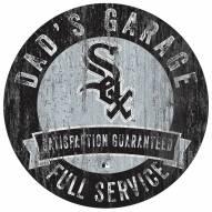 Chicago White Sox Dad's Garage Sign