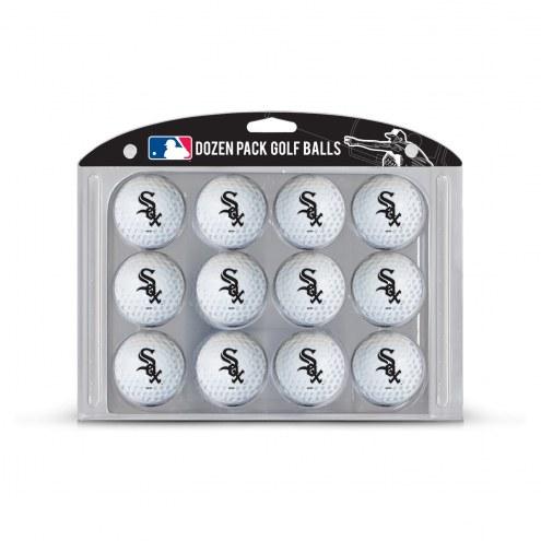 Chicago White Sox Dozen Golf Balls