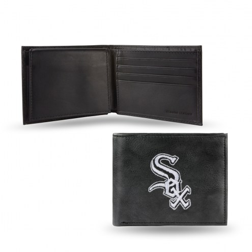 Chicago White Sox Embroidered Leather Billfold Wallet