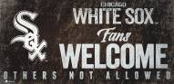 Chicago White Sox Fans Welcome Sign