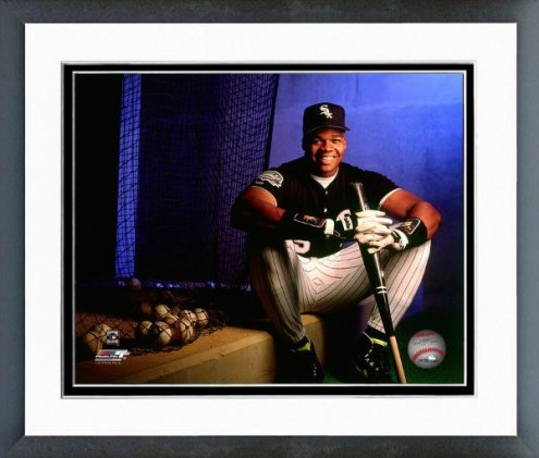 Chicago White Sox Frank Thomas 1991 Posed Framed Photo