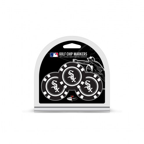 Chicago White Sox Golf Chip Ball Markers