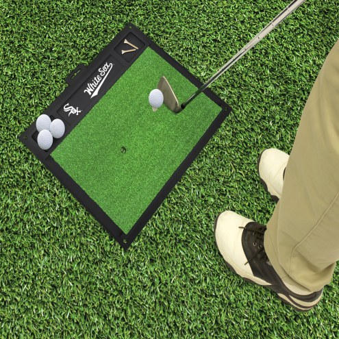 Chicago White Sox Golf Hitting Mat