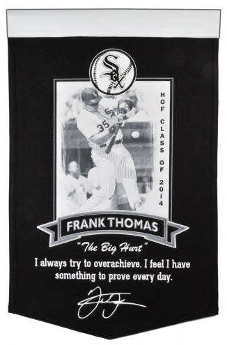 Chicago White Sox Frank Thomas Icon Collection Banner