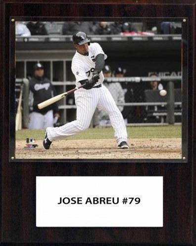 """Chicago White Sox Jose Abreu 12"""" x 15"""" Player Plaque"""