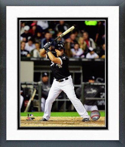 Chicago White Sox Jose Abreu Action Framed Photo