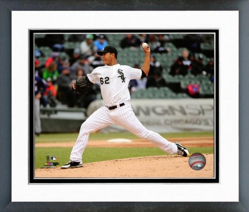 Chicago White Sox Jose Quintana Action Framed Photo
