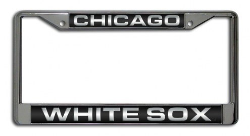 Chicago White Sox Laser Cut License Plate Frame