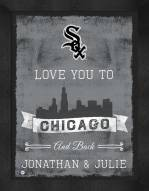 Chicago White Sox Love You to and Back Framed Print