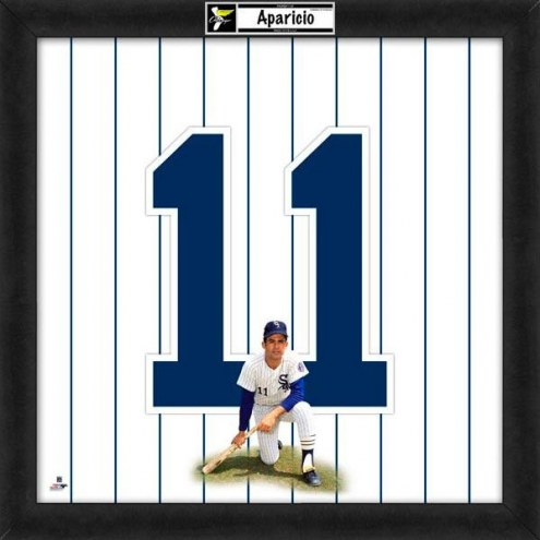Chicago White Sox Luis Aparicio Uniframe Framed Jersey Photo