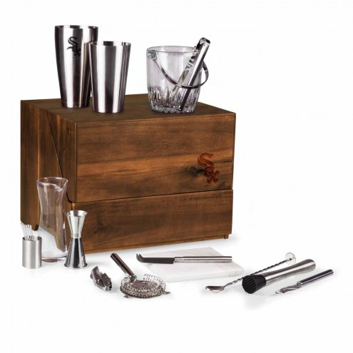 Chicago White Sox Madison Acacia Table Top Bar