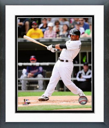 Chicago White Sox Micah Johnson Action Framed Photo