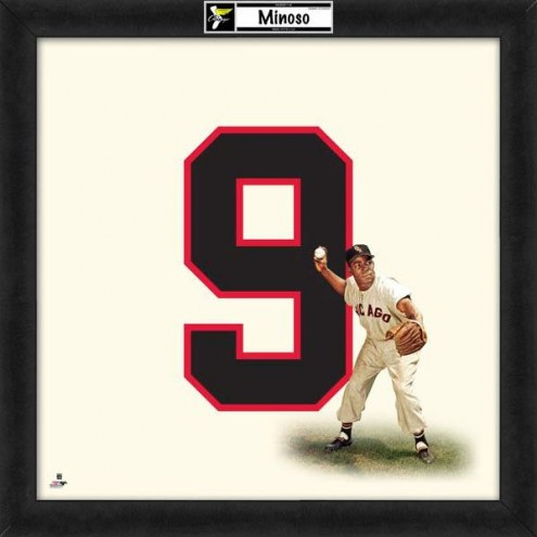 Chicago White Sox Minnie Minoso Uniframe Framed Jersey Photo