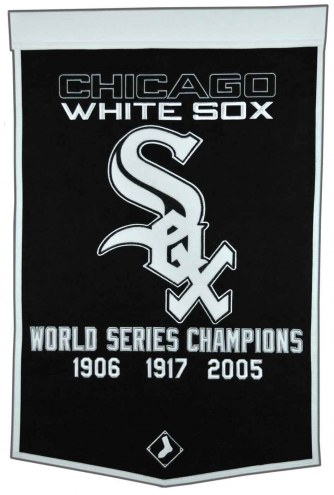 Winning Streak Chicago White Sox Major League Baseball Dynasty Banner
