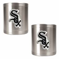 Chicago White Sox MLB Stainless Steel Can Holder 2-Piece Set