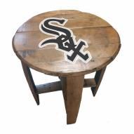 Chicago White Sox Oak Barrel Table