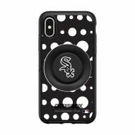 Chicago White Sox OtterBox Symmetry Polka Dot PopSocket iPhone Case
