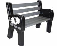 Chicago White Sox Park Bench