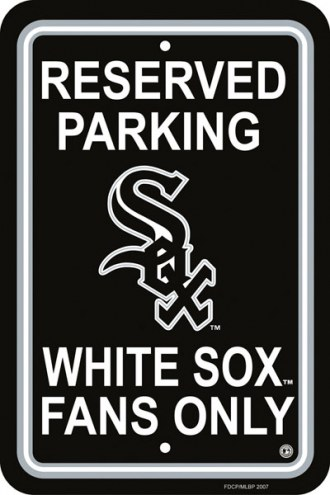 Chicago White Sox Parking Sign