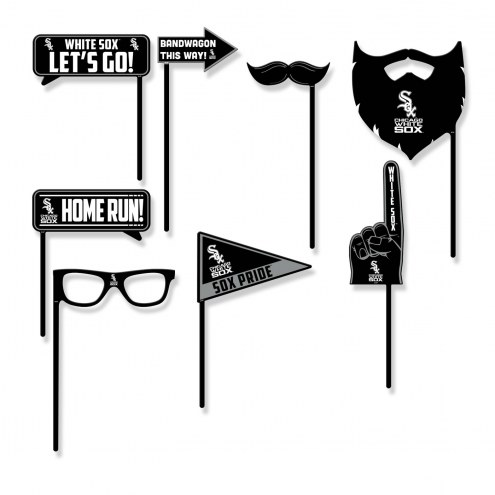 Chicago White Sox Party Props Selfie Kit
