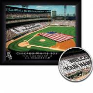 Chicago White Sox 11 x 14 Personalized Framed Stadium Print