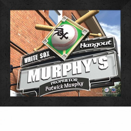 Chicago White Sox Personalized Framed Sports Pub Print