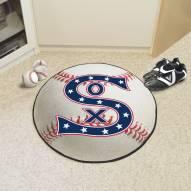 Chicago White Sox Baseball Rug