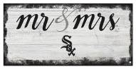Chicago White Sox Script Mr. & Mrs. Sign