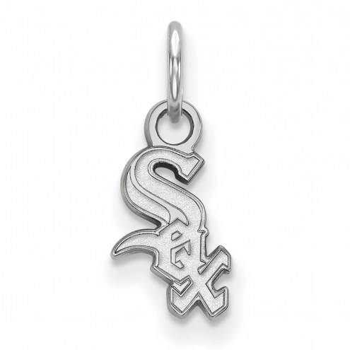 Chicago White Sox Sterling Silver Extra Small Pendant