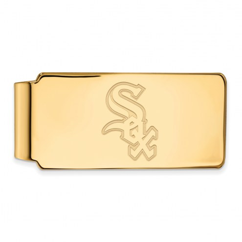Chicago White Sox Sterling Silver Gold Plated Money Clip