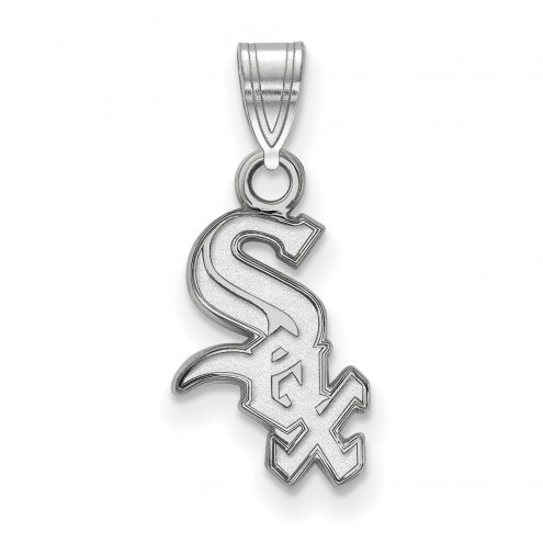 Chicago White Sox Sterling Silver Small Pendant