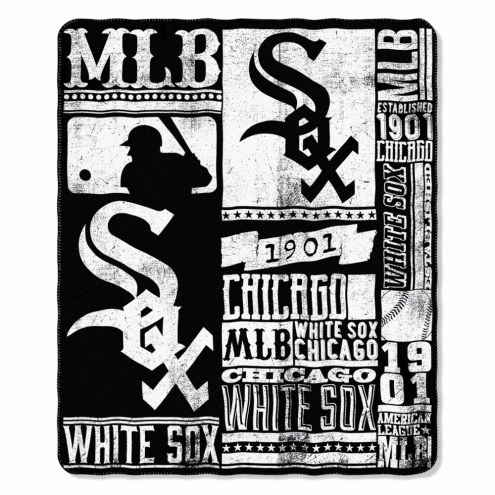 Chicago White Sox Strength Fleece Blanket