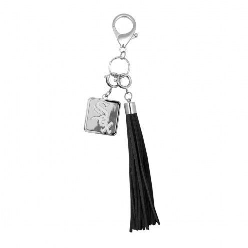 Chicago White Sox Tassel Purse Charm