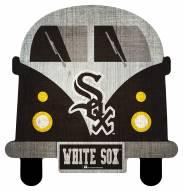 Chicago White Sox Team Bus Sign