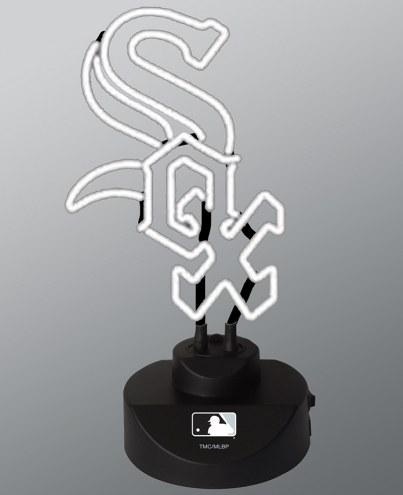 Chicago White Sox Team Logo Neon Lamp