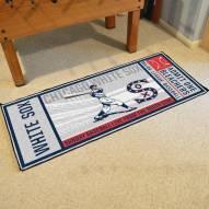 Chicago White Sox Ticket Runner Rug