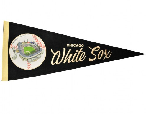 Chicago White Sox Vintage Ballpark Traditions Pennant
