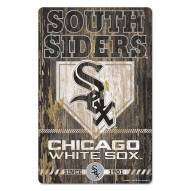 Chicago White Sox Slogan Wood Sign