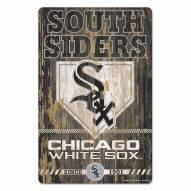 Chicago White Sox Slogan Wood Sign