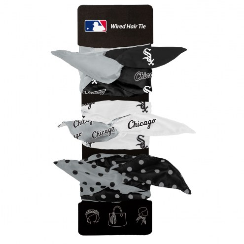 Chicago White Sox Wired Hair Tie