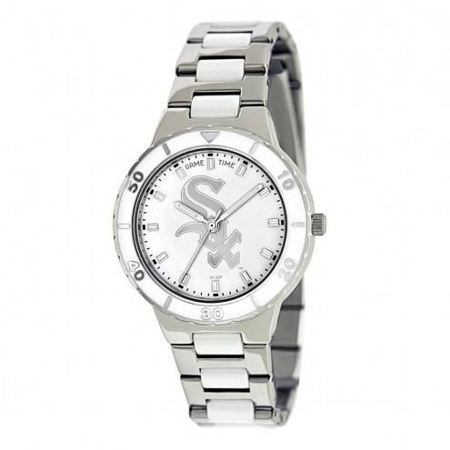 Chicago White Sox Womens Pearl Watch